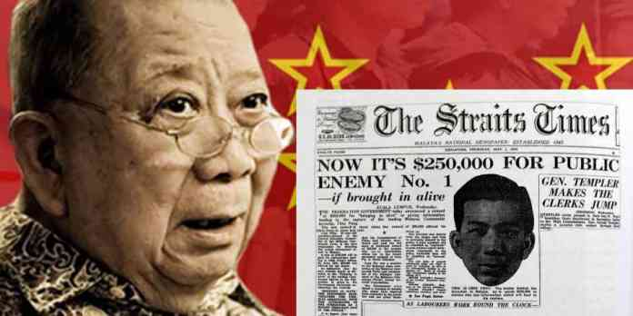 Image result for DAP sokong Chin Peng