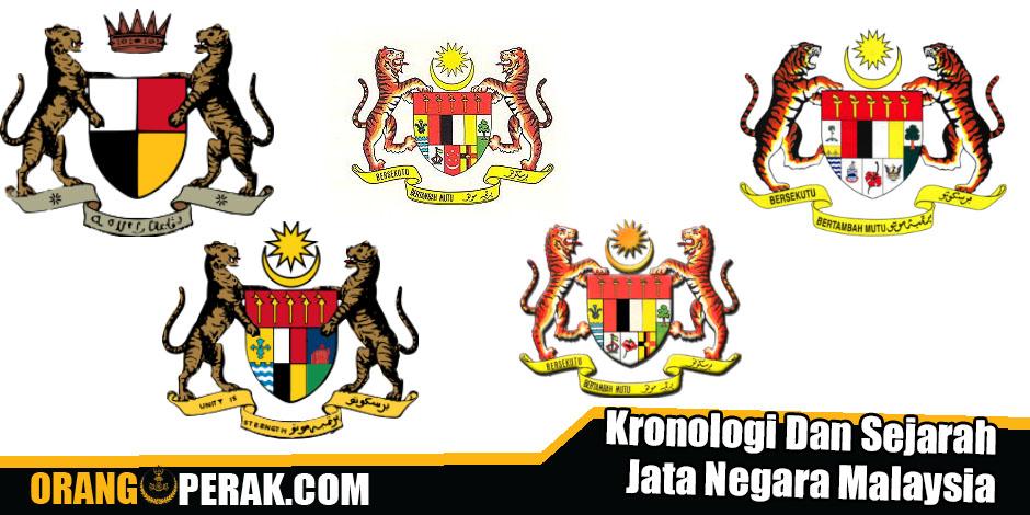 Kronologi Dan Sejarah Jata Negara Malaysia